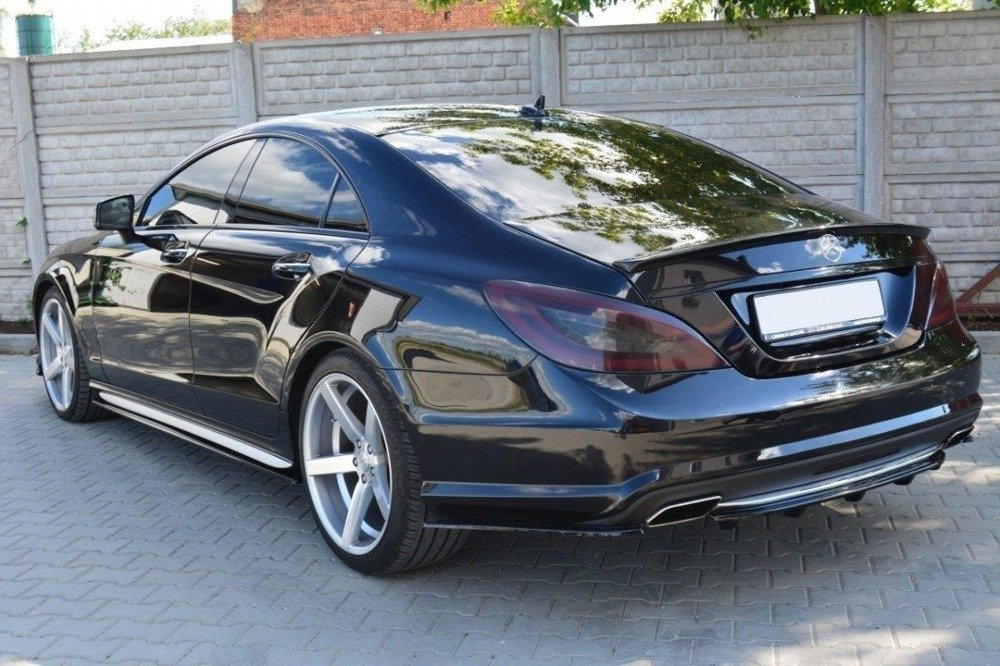 HECK DIFFUSOR SEITE L + R MERCEDES CLS C218 AMG LINE