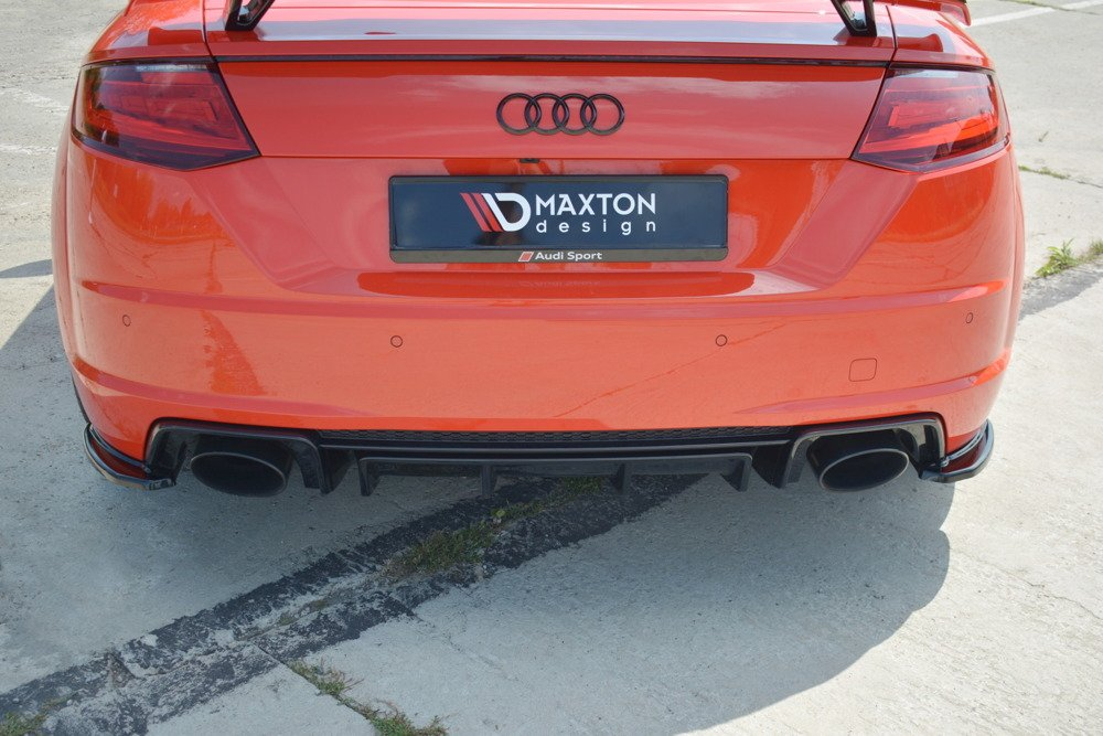Heck Diffusor Seite Audi TT RS 8S