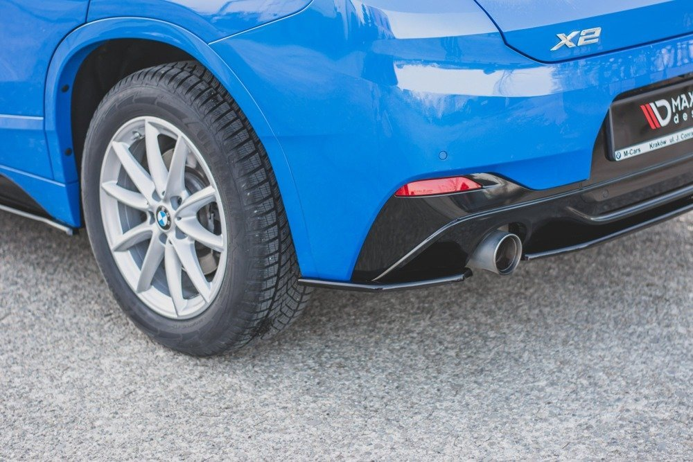 Heck Diffusor Seite BMW X2 F39 M-Pack
