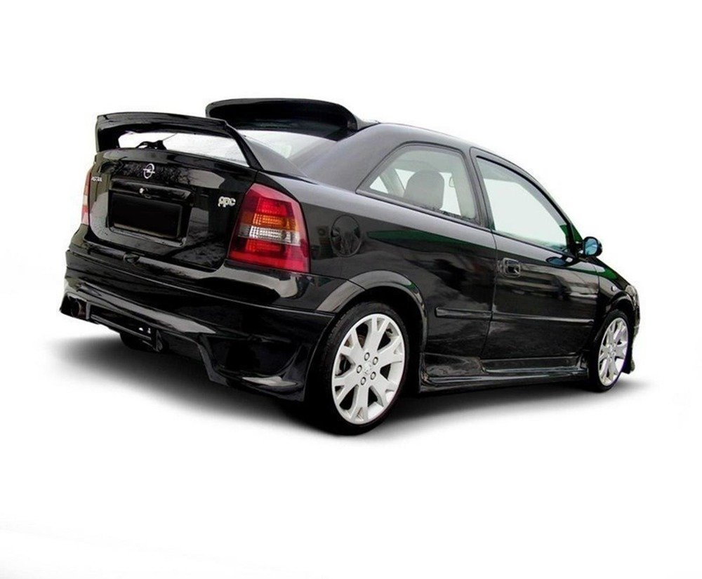 REAR BUMPER EXTENSION OPEL ASTRA G (3 & 5 DOOR HATCHBACK)