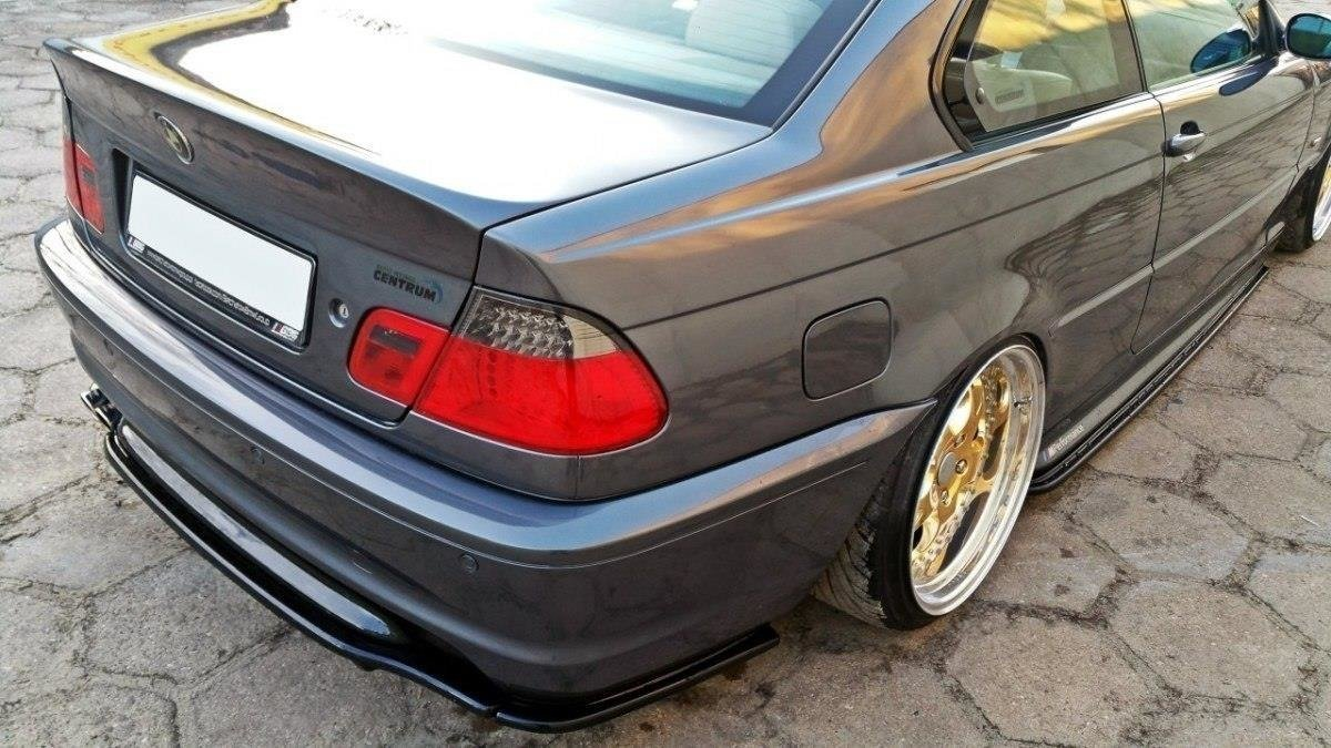 Splittery Tylne Boczne Bmw 3 E46 M Pack Coupe